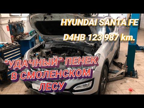 Ремонт Хендай Санта Фе. Замена двигателя D4HB