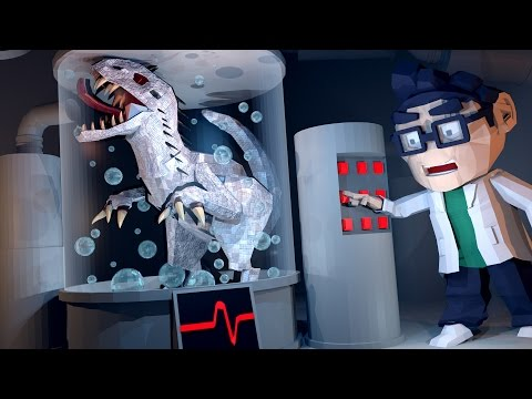 Minecraft Laboratory - NEW INDOMINOUS REX IS NOW NICE! (Minecraft Roleplay)