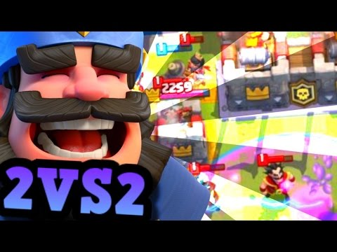2v2 with ALL LEGENDARY = INSANITY in Clash Royale (Strategy Tips & More!)