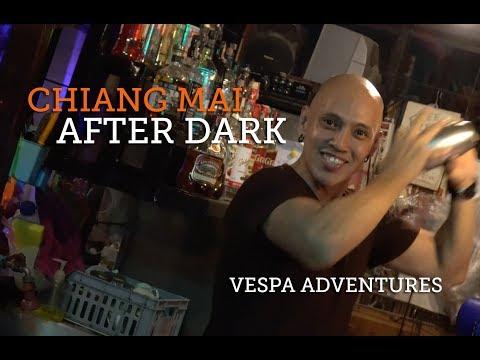 Chiang Mai After Dark - Vespa Adventures