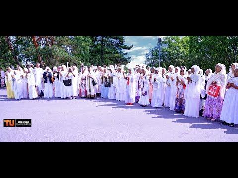 Norway Eritrean orthodox church DebreSelam Kidus Michael Drammen 17.6.2017