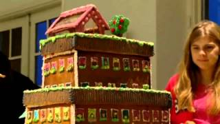 Sweden holds festive gingerbread houses competition Thumbnail