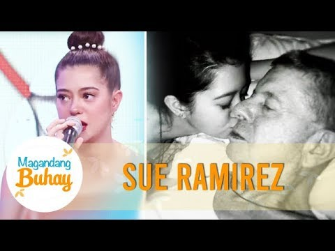 Sue gets emotional sharing about her father | Magandang Buhay