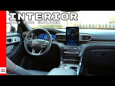 2020 Ford Explorer SUV Interior