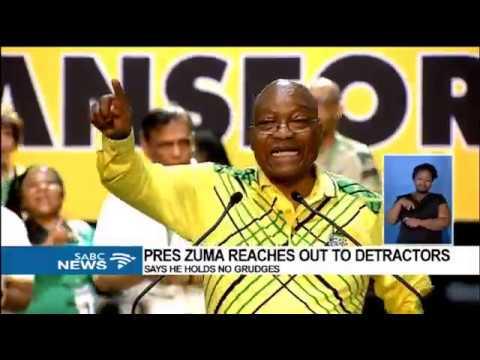 President Zuma reassures his detractors that he understands