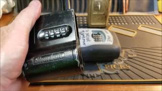 "(331) Shurlok Key Lock Box double decoded Sent by ""Steel Pinnings"""