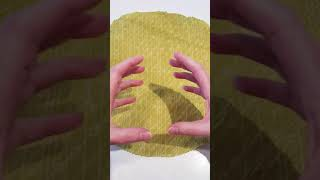 How to make a bowl, pot from a beeswax wrap