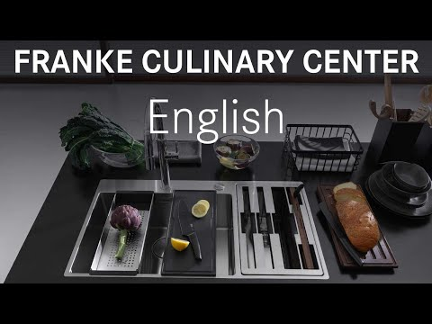 Franke Culinary Center Sink Stainless Steel - Complete - English