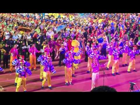 Largest Boria Perfomance. and New Malaysia Book of Record.. Boria Muhibah MSSM