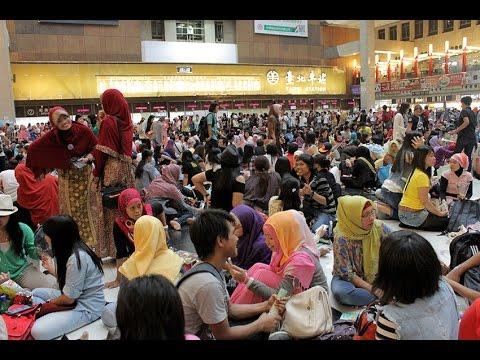 Libur Lebaran, Puluhan Ribu TKI Padati Stasiun Taipei - INTAI News