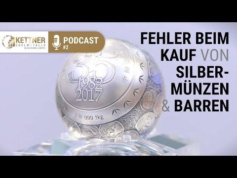 Silber kaufen - Fehler beim Kauf von Silbermünzen & Barren (Podcast #2)