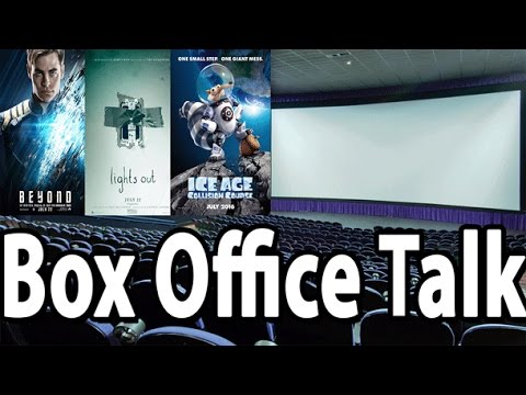 Star Trek Boldy Scares Off Ice Age & Lights Out - Box Office Talk