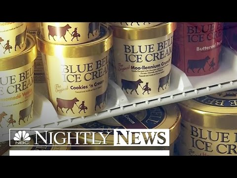 Blue Bell Recalls All Products After Listeria Outbreak   NBC Nightly News