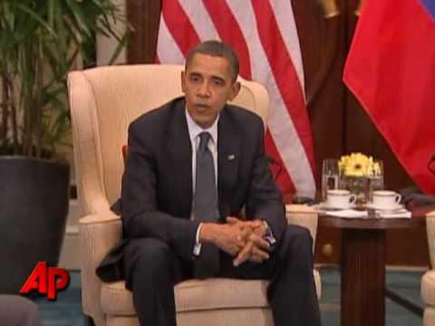 In Asia, Obama, Medvedev See Nuke Pact Progress