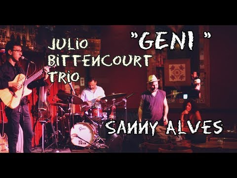 GENI - Sanny Alves e Julio Bittencourt Trio - Bottles Bar Beco das Garrafas