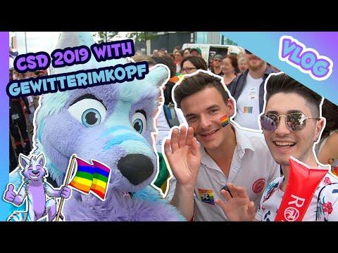 🐺 VLOG #19 - Christopher Street Day 2019 (CSD), Cologne