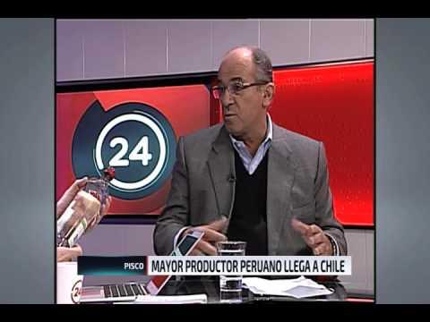 Entrevista a Santiago Queirolo en Canal 24 horas de Televisión Nacional de Chile