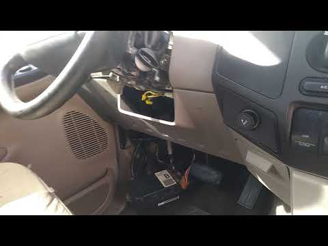 1999 To 2008 F-250 Dash Conversion