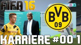 FIFA 16 Karrieremodus ★ Borussia Dortmund ★ Wie Geil Ist Das Denn? #001