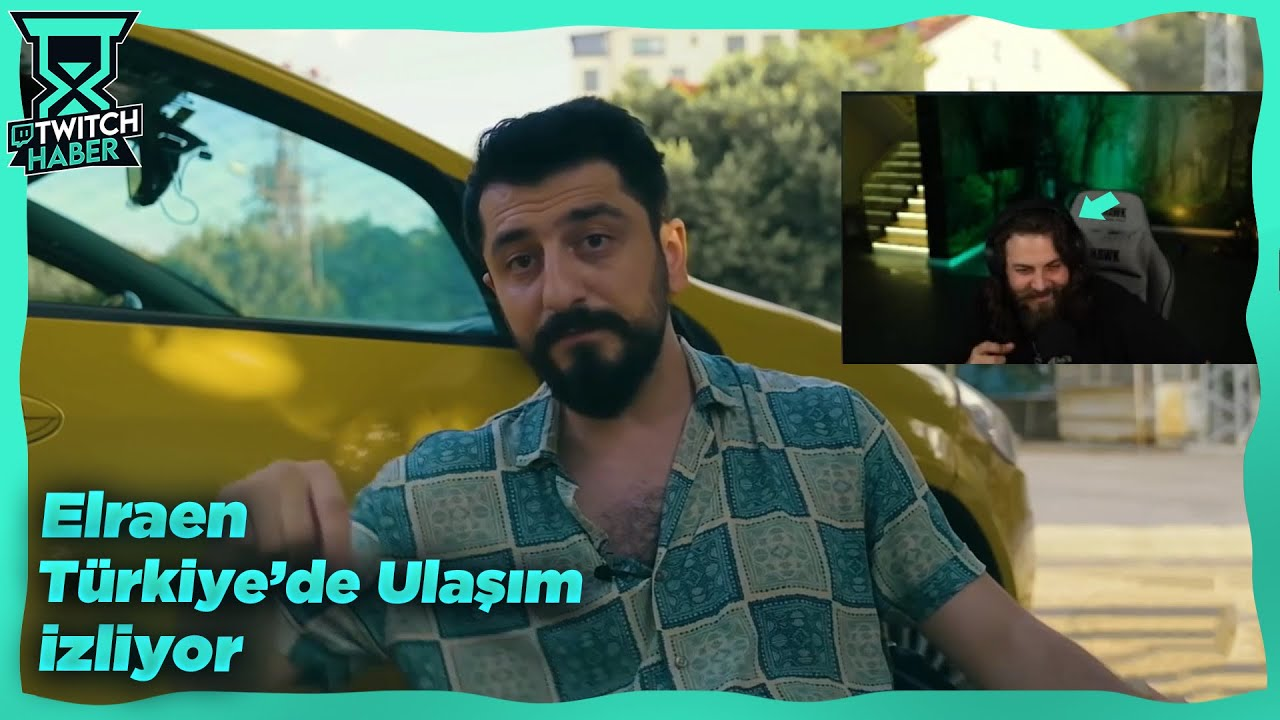 """Elraenn - """"Türkiye'de Ulaşım"""" İzliyor (Röportaj Adam)"""