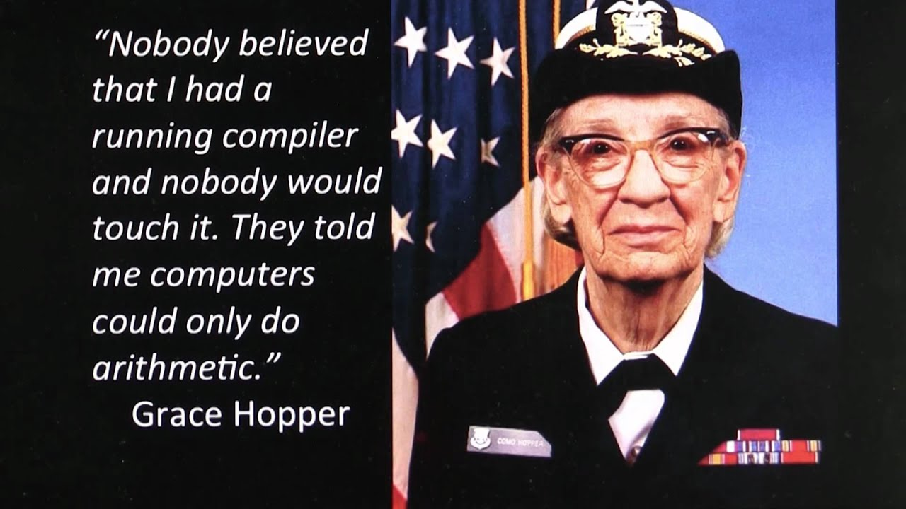 Grace Hopper: 'First Lady of Software'