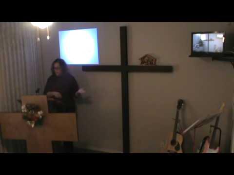 Be The Light Christian Church sunday service Sharon Davis speaking 12-15-13