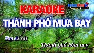 Thành Phố Mưa Bay Karaoke Hoàng Dũng
