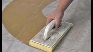 Затирка швов плитки при помощи клея своими руками. Как затирать швы на плитке