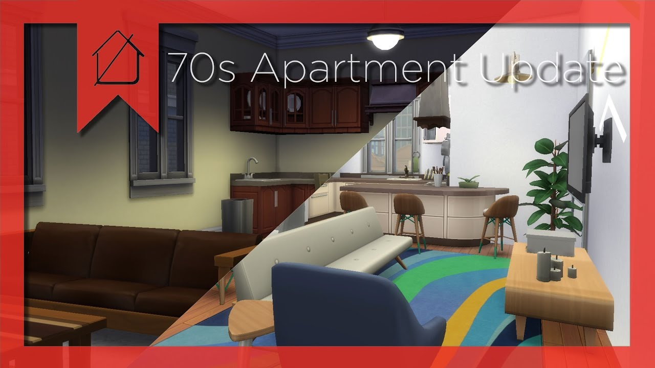 70s Apartment Sims 4 Update