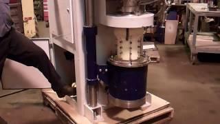 Vertical media mill by drais buhlersuperflow design, 40 hp, nice!