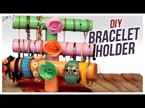 DIY Bracelet/Jewelry Holder! - Do It, Gurl