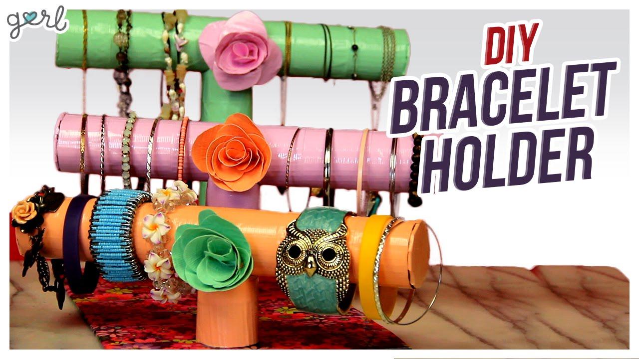 Do It Yourself Jewelry: DIY Bracelet/Jewelry Holder!