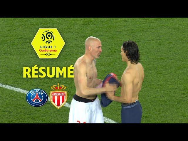 Paris Saint-Germain - AS Monaco ( 7-1 ) - Résumé - (PARIS - ASM) / 2017-18