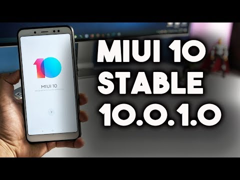 MIUI 10 STABLE 10.0.1.0 China Released for REDMI NOTE 5 PRO