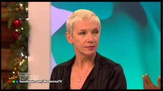 ANNIE LENNOX on MADONNA's TOPLESS PHOTOS Interview Magazine LOOSE WOMEN 2014 Thumbnail
