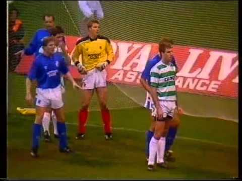 Celtic v Rangers November 1988