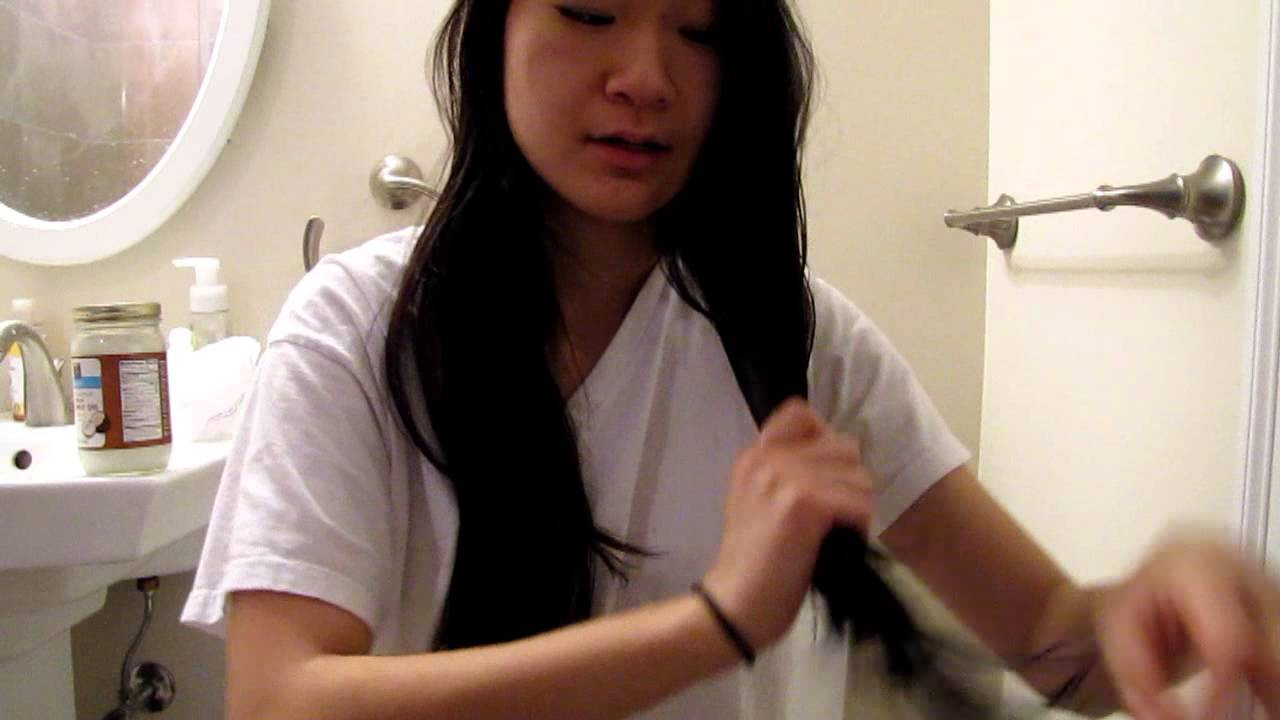 how to get gum out of hair coconut oil
