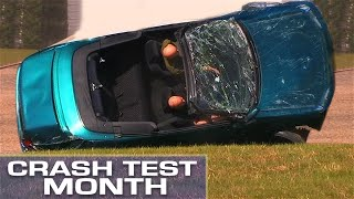 Crash Test Month: Flipping A Convertible thumbnail