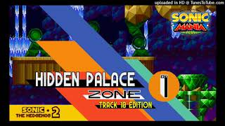 Sonic Mania: Hidden Palace Zone Act 1 - \