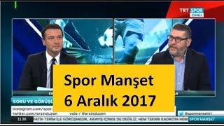 Spor Manşet Trt Spor Ersin Düzen Cem Dizdar RB Leipzig - Beşiktaş Yorumları 6 Aralık 2017