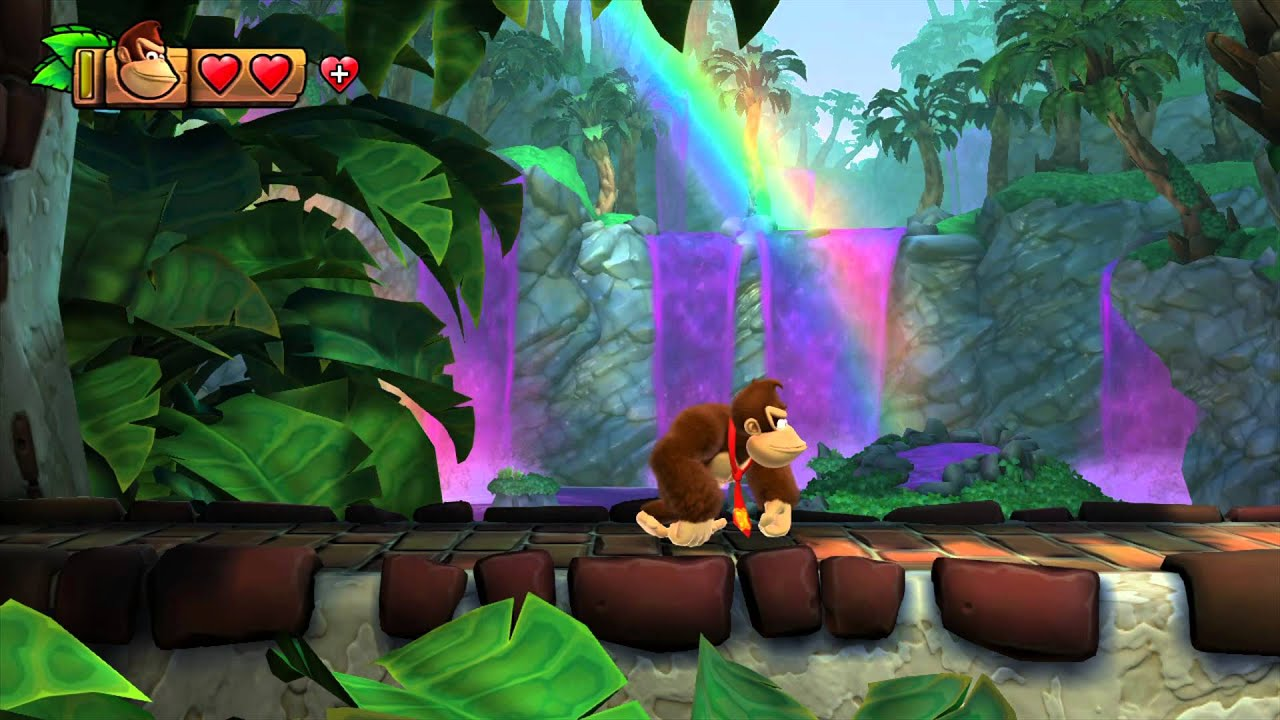 Donkey Kong Country Tropical Freeze World 5 Juicy Jungle 5 2