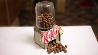 DIY Kitkat Chocolate Vending Machine Very Easy at Home