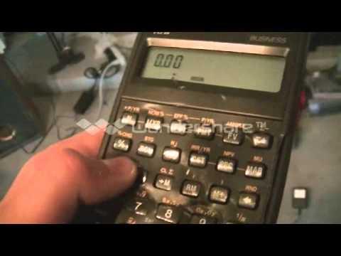vintage HP calculator destruction
