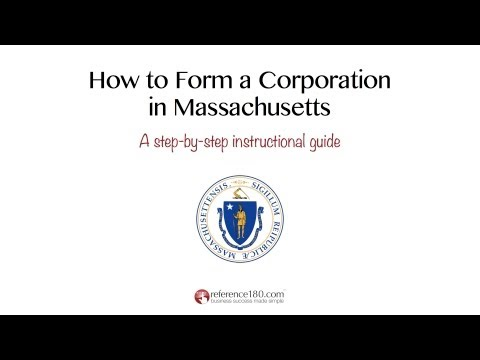 How to Incorporate in Massachusetts