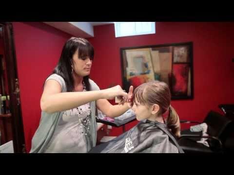 Kid's Hair Tips - Trimming Bangs