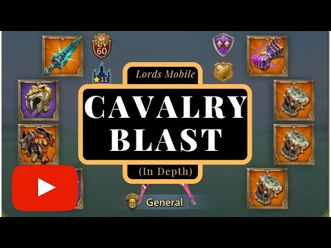 Lords Mobile Cavalry Blast Gears