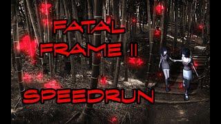 Fatal Frame II: Crimson Butterfly Speedrun