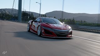 Gran Turismo™SPORT Circuit de Sainte Croix C II Honda NSX Gr 3