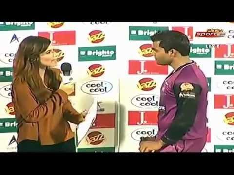 Umar Akmal Insult Fazeela Saba in presentation About Discipline Question