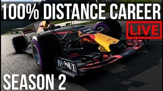 F1 2017 - 100% Distance Career Mode | Round 13: Monza